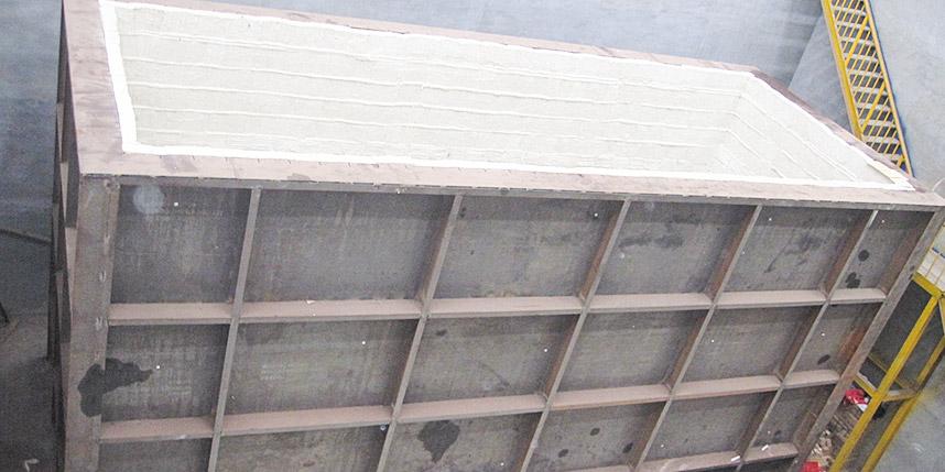 巨能坑式炉模块施工安装