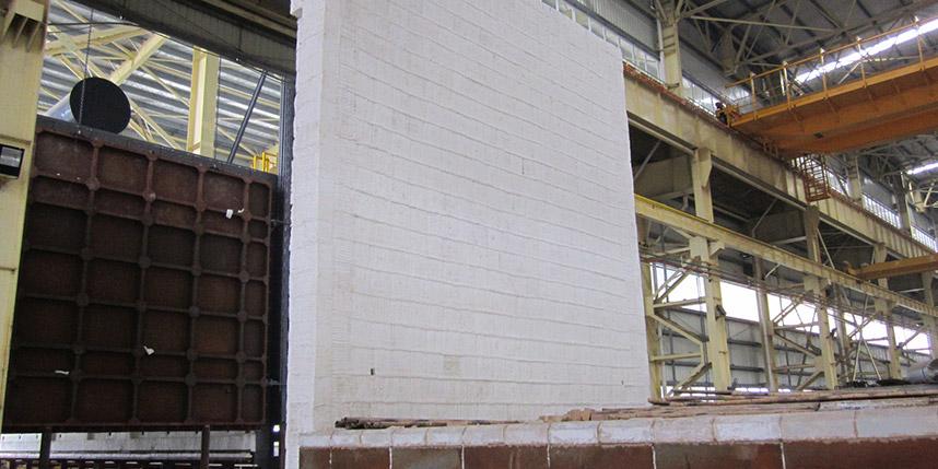 湖州台车炉模块施工安装