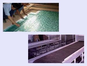 热熔玻璃用750℃高温隔热垫片-硅酸铝纤维纸