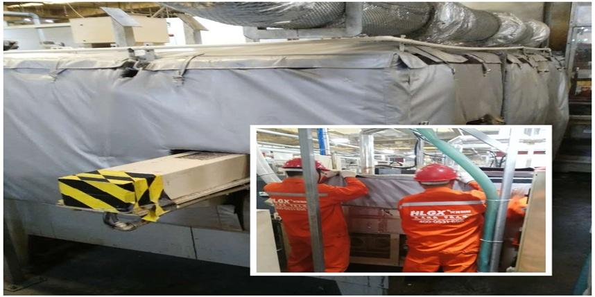 HLGX保温套助力世界500强电装公司设备升级