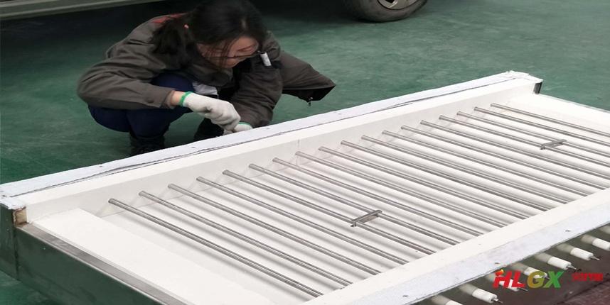 HLGX陶瓷纤维挡火板应用于化成箔生产线烘干炉保温