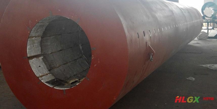 圆筒焙烧炉专用陶瓷纤维大模块保温项目