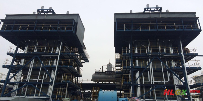 珠海45吨燃气锅炉保温项目